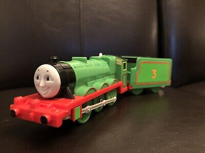 Thomas Trackmaster - Motorized Train Henry And Tender 2006 Working Hit Toy
