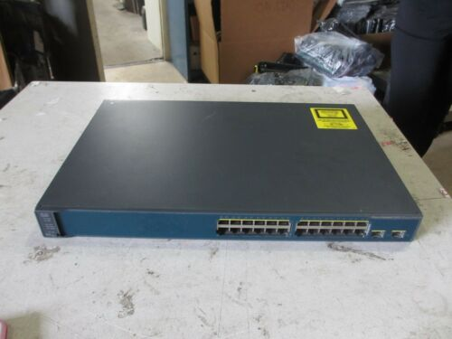 Cisco 3560 V2 Series Poe-24 Ws-c3560v2-24ps-e Switch Catalyst