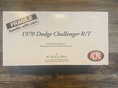 Danbury Mint 1970 Dodge Challenger R/T Acme 1/24 Diecast