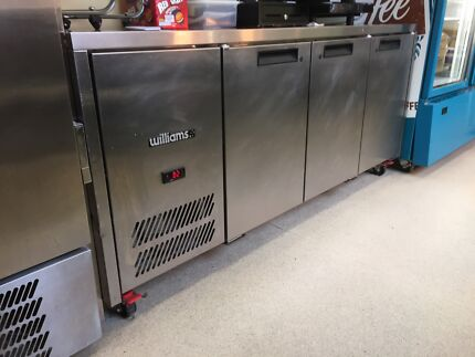 Williams 3 door stainless under bench fridge New Town Hobart City Preview