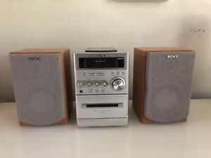 Sony micro Hifi component system stereo system