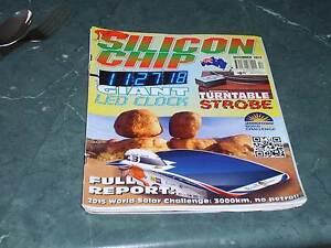 Silicon Chip Electronics Magazines in Good condition Benalla Benalla Area Preview