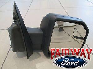 15 thru 17 F-150 OEM Ford Power Adj Heated Glass w/ Turn Signal PASSENGER Mirror