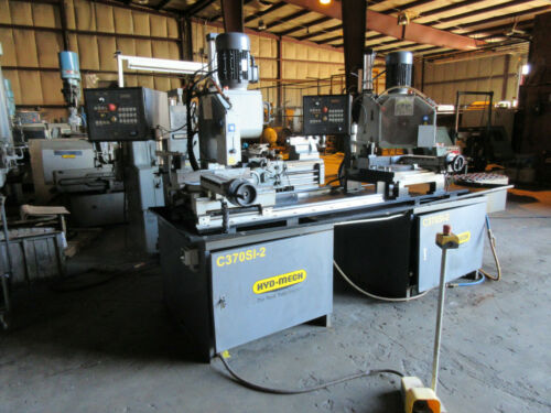 Hyd-Mech C370-2SI Two Head Semi-Automatic Cold Saw