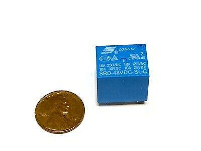 1 Piece 10a 5 Pins Songle Srd Pcb Power Relay Srd-48vdc-sl-c C42