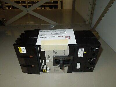 Square D Ka36100 I-line Circuit Breaker 100a 3p 600v Ac W Test Report Used