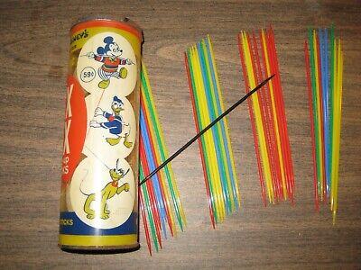 Pix Up Sticks (Vintage Whitman PIX PIX Pick-Up Sticks - Walt Disney)