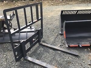 BRAND NEW ATTACHMENTS; BUCKETS, PLOW, FORKS