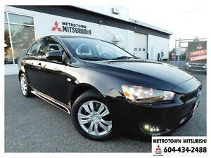 2015 Mitsubishi Lancer DE; Local & no accidents! LOW KMS!