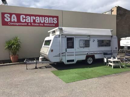 "Regent ""Cruiser"" Poptop Caravan with Air Conditioning"