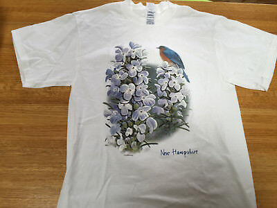 New Hampshire Womens Short Sleeved T Shirt  Sz Med   Nwot