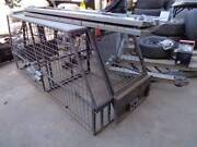 DOG UTE CAGE....WITH LIFT UP DOORS Wingfield Port Adelaide Area Preview