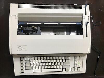Ibm Personal Wheelwriter 2 Lexmark Electronic Typewriter