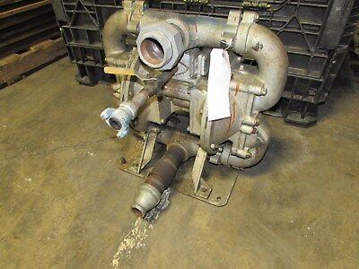 Warren Rupp Sandpiper Sa2-a Db-1-a 2 Aluminum Double Diaphragm Pump