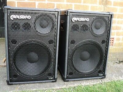 "Carlsboro A-158 15"" Full Range Speakers"