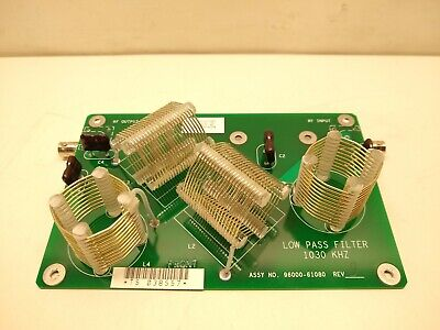 Thermo Finnigan 96000-61080 Mass Spectrometer Low Pass Filter Board