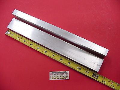 2 Pieces 34x 1-12x 18 Wall Aluminum Rectangle Tube 6063 T52 X 12 Long