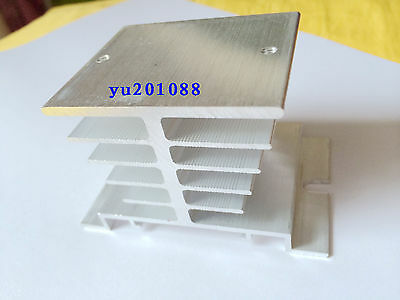 Aluminum Heatsink for Single-phase solid state Relay radiator 10A 25A 50x80x50mm