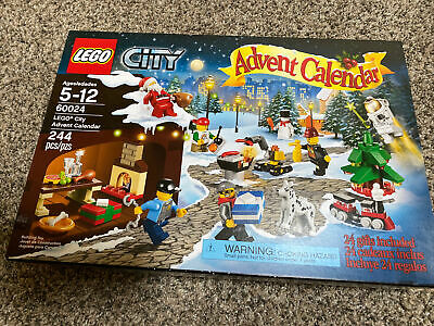 LEGO City Advent Calendar 60024 - Used, Complete except one bottle piece shown.