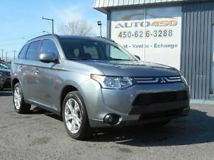 Mitsubishi Outlander ES 2014 ***CUIR,MAGS,TOIT OUVRANT***