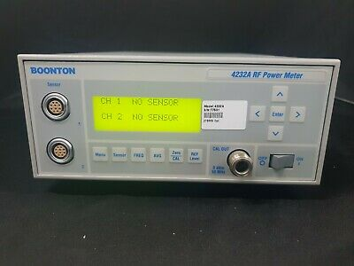 Boonton 4232a 2 Channel Rf Power Meter