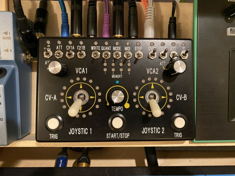 REON DRIFTBOX J PROGRAMMABLE JOYSTICK VCA / CV CONTROLLER (w/orig. box & manuel)