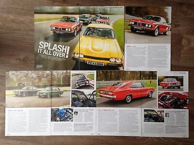 Ford Capri RS3100 Escort RS2000 BMW CSL Dolomite  - Classic Group Test Article