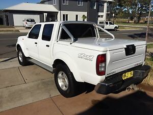 2005 Nissan Navara ST-R 4x4 V6 Manual Towbar Hardlid May Swap Trade Penrith Penrith Area Preview