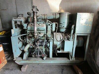 75kw Diesel Generator Set Detroit Diesel 6v71n 1 Phase Or 100kw 3 Phase