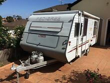 2001 pedigree caravan 18ft Roxburgh Park Hume Area Preview