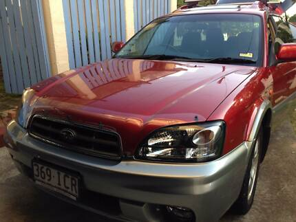 2002 Subaru Outback Wagon Coorparoo Brisbane South East Preview