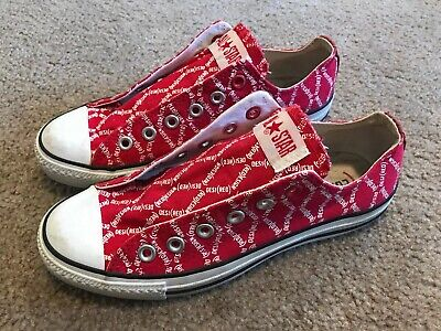 RARE Converse Product (Red) Chuck Taylor All Star Chucks Womens 8 Shoes Mens 6 - Converse Merchandise