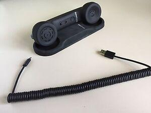 Combiné Bluetooth pour téléphone mobile iRetroPhone - Noir