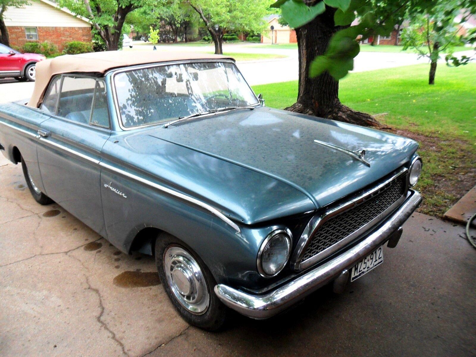 1961 AMC Other Chrome 1961 Rambler 400 Convertible, nice classic ragtop.