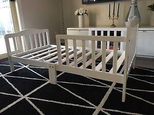 White toddler bed Adelaide CBD Adelaide City Preview