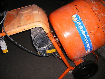 BELLE mini mix 150 cement mixer with 110 VOLT MOTOR