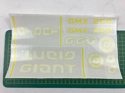 old school bmx decals stickers peddlepower BMX red on white
