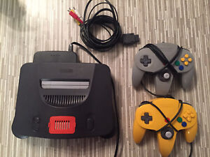 N64 2 controllers and exp pak