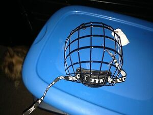 Cage for helmet never used