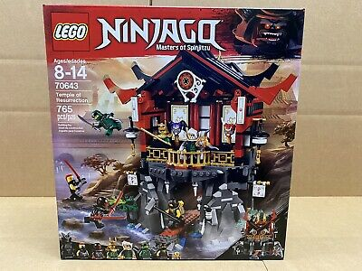 LEGO Ninjago - 70643 - Temple of Resurrection - NEW - SEALED - FREE SHIPPING