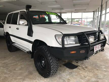 2000 Toyota LandCruiser 4WD Auto 7 Seater Wagon Nambour Maroochydore Area Preview