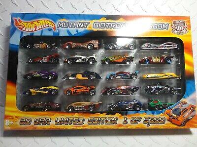 Hot Wheels Mutant Biotronic Kingdom (20) Car Set of 5000 Sharkruiser/Deora ++