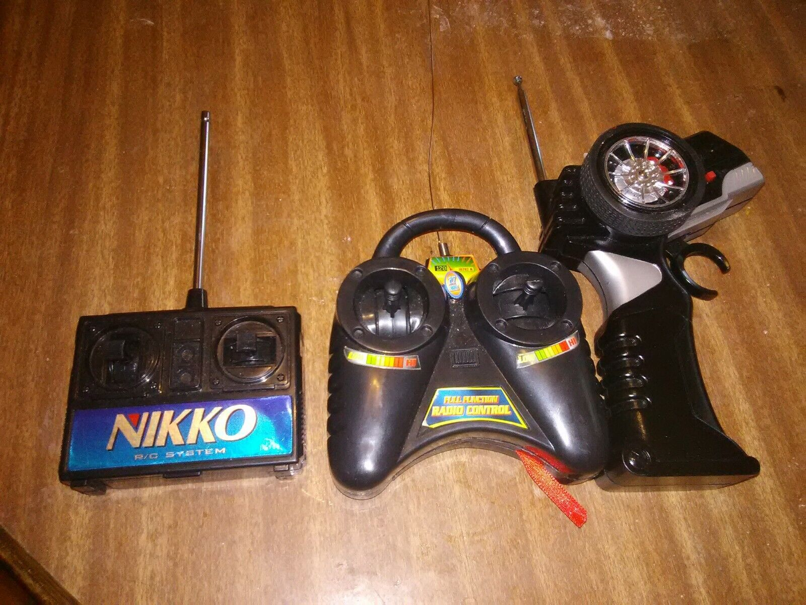 Vintage NIKKO Remote Control Toy Car Truck RC Vehicle Model Lot Of 3. - $19.99