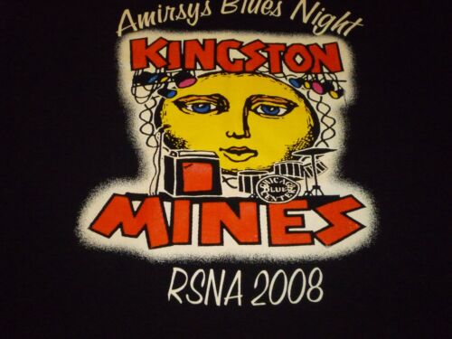 Kingston Mines / Statdx Rocks Shirt ( Used Size L ) Nice Condition!!!
