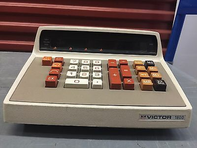Rare - Vintage  Victor 1800 Series 18-1442 Calculator