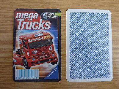 Auto Quartett Mega Trucks Highway LKW gebraucht kaufen  Deutschland