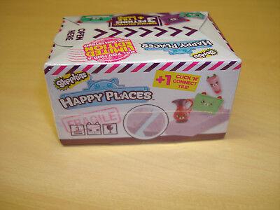 (1) Shopkin Happy Places white blind box contains 3 random Petkins & 1 tile NEW