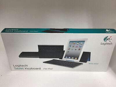 Logitech Tablet Wireless Bluetooth Keyboard 920-003241 for iPad/iPad 2