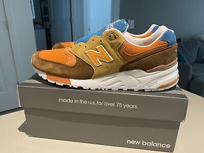 Crew Canyon Road Pack Made in USA Mens Sneakers Shoes 10 D New Balance 999r x J