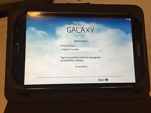 Samsung tab 4 8 gig 7inch screen